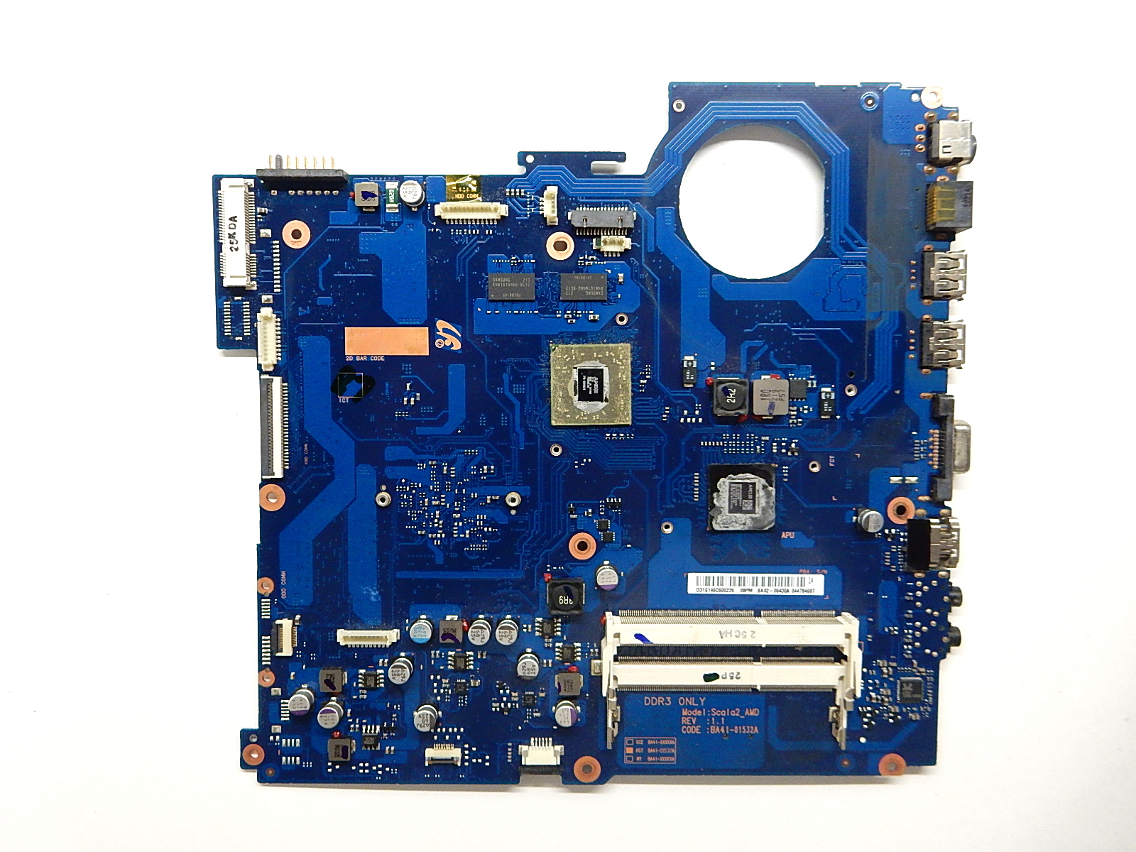 Материнская плата BA41-01532A Scala2_AMD REV: 1.1 BA92-09430A Samsung NP- RV511 RV515