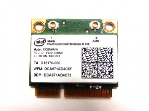 Wi-Fi + Bluetooth модуль для ноутбука Intel Centrino Wireless - N130 130BNHMW